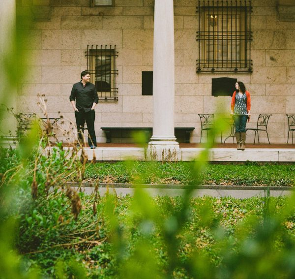 matt+amy // boston engagement session back bay