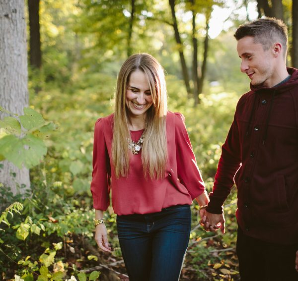 danny + lauren // ann arbor engagement session