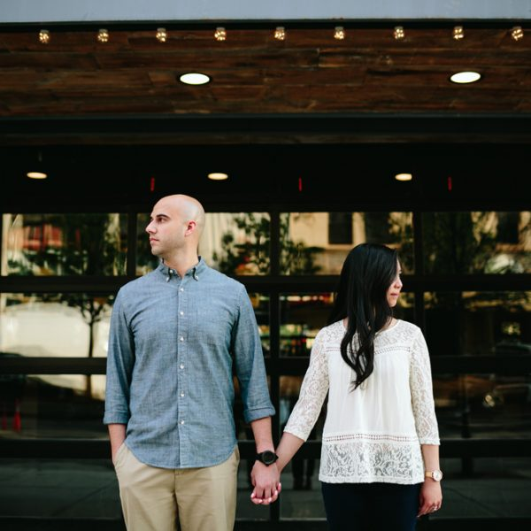 linda + kyle // Detroit engagement session