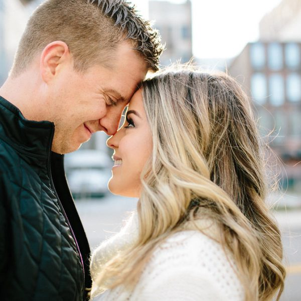 Detroit Engagement Session // Mariana + Kevin