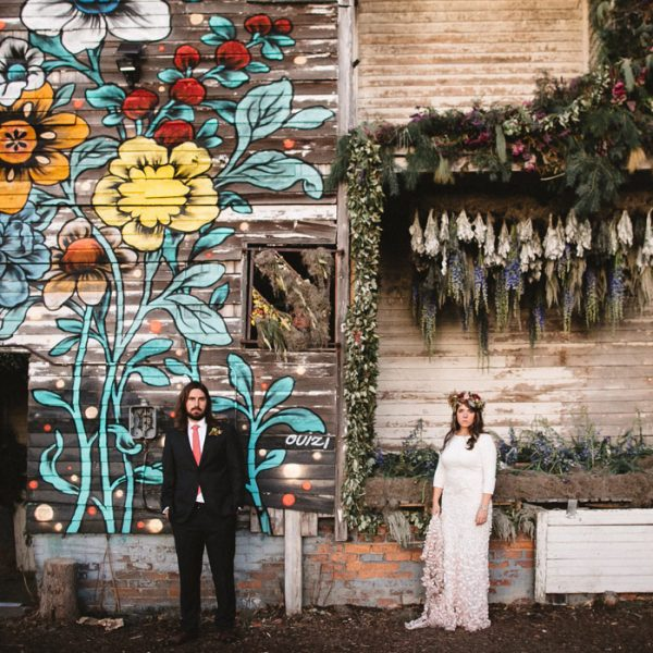 Flowerhouse Wedding // Chelsea + Nathaniel