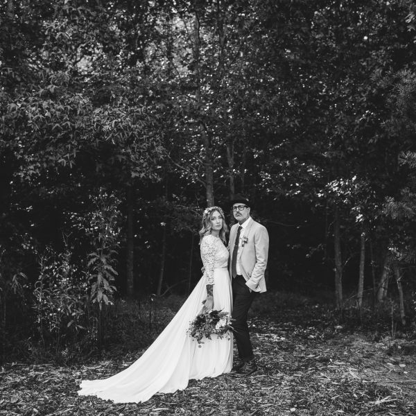 Asheville Destination Wedding // Chelsea + AJ