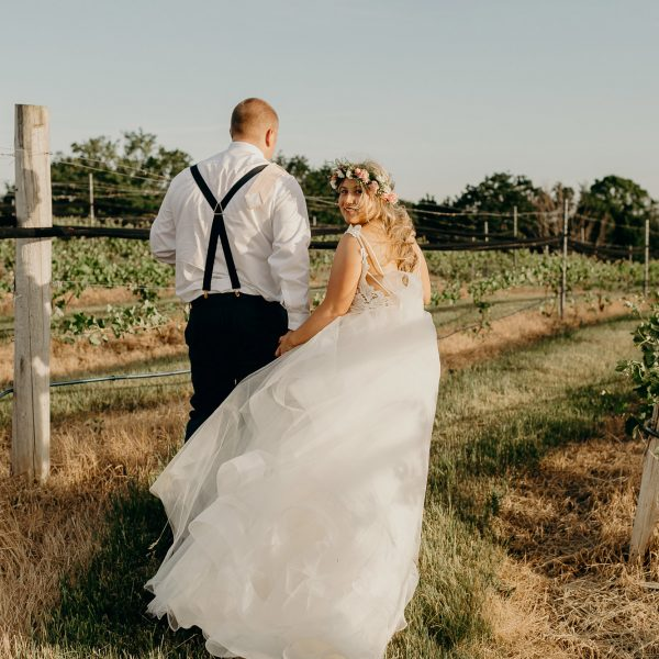 brengman brothers winery wedding // nichole + troy